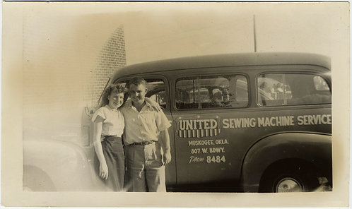 HAPPY LIGHT LEAK COUPLE at UNITED SEWING MACHINE SERVICE VAN Muskogee OK