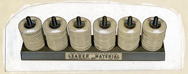 fp1455 (fishing nylon reels - detail)