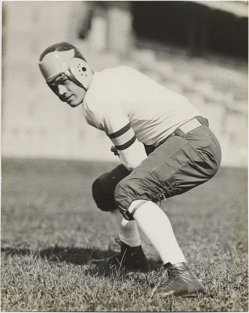 HUNKY OHIO STATE FOOTBALL QUARTERBACK McAfee from IRONTON 1932
