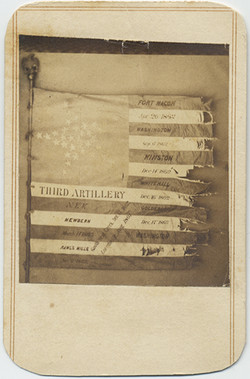 fp5474(Morris&Nason_CDV_AmericanFlag_Distressed_ThirdArtillery_Military)