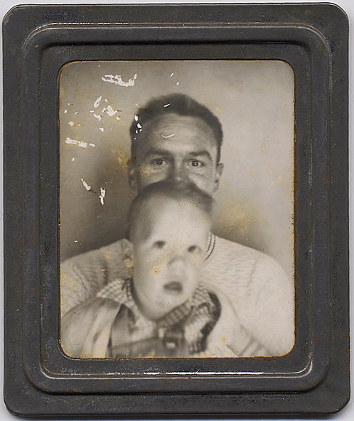 PHOTOMATIC SMALL MOVING BLURRY BOY MASK FATHER - DAD'S EYES SAY IT ALL