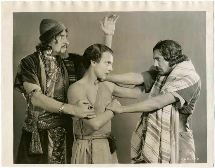 fp1227 (3 Men in Movie Biblical Epic)