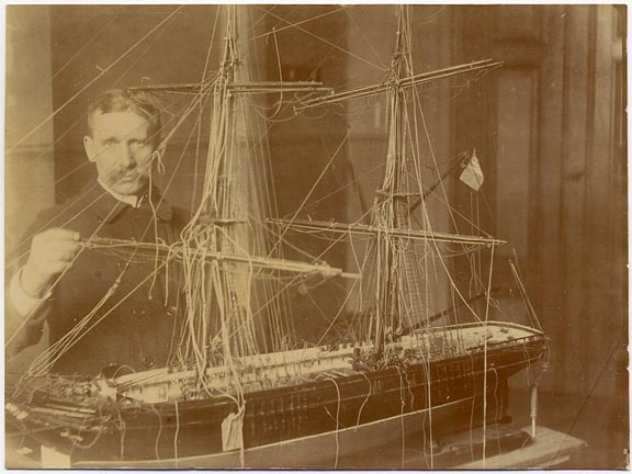 fp1233 (Man with Model Ship)