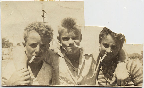 3 TOUGH GUY KIDS SMOKING BADASS CIGARETTES REBELS with a NICOTINE CAUSE