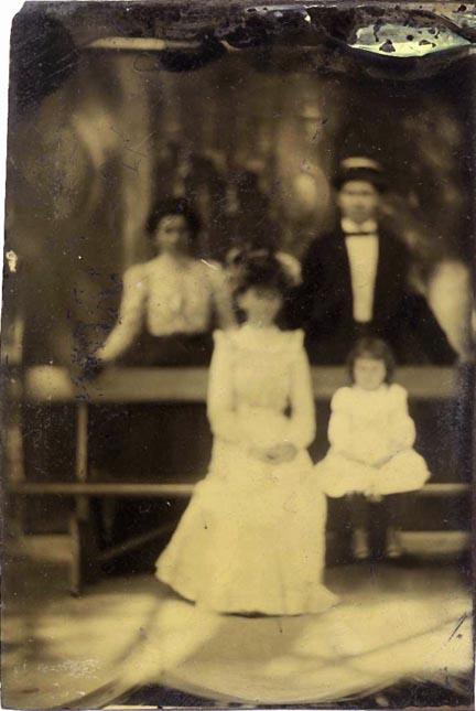 fp1076 (blur family portrait tintype)