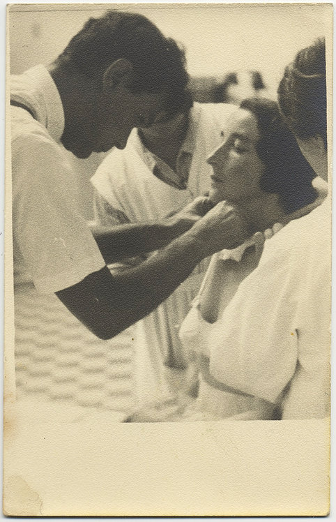 BEAUTIFUL PATRICIAN WOMAN gets MEDICAL EXAMINATION by HANDSOME DOCTOR