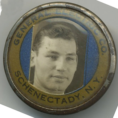 GENERAL ELECTRIC Schenectady EMPLOYEE ID Badge!