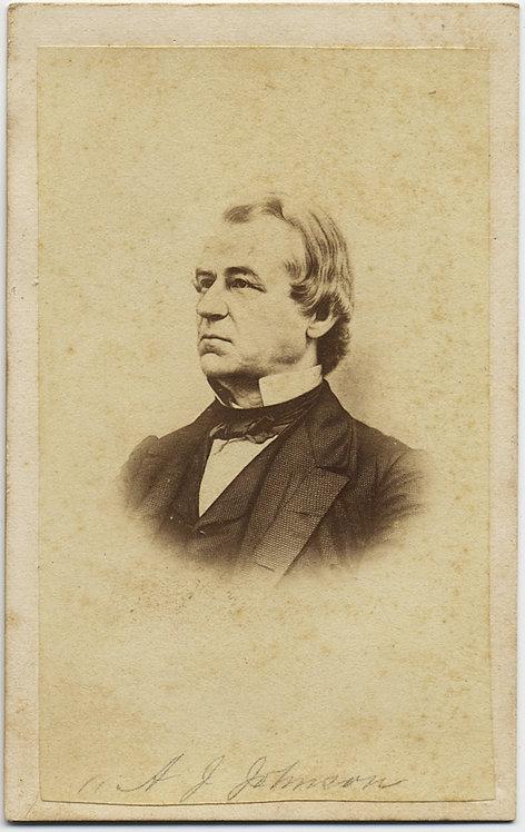 "WORSE than TRUMP? ""WORST PRESIDENT"" ANDREW JOHNSON A J JOHNSON 17th post-Lincoln"