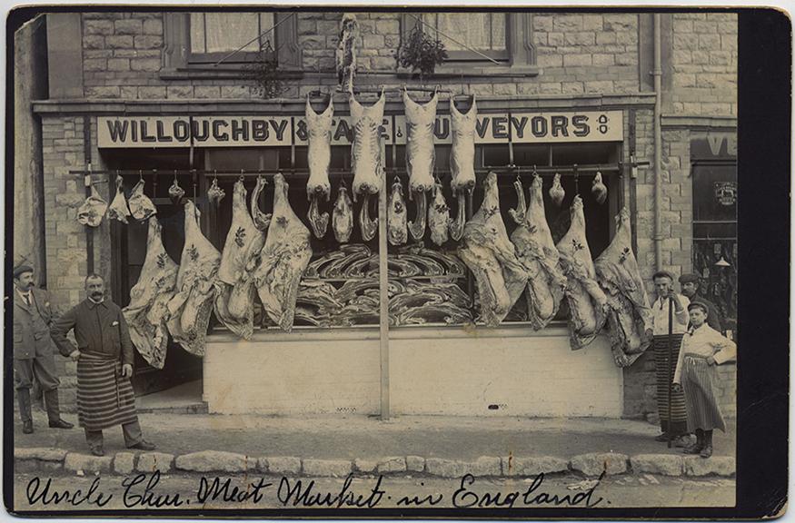 fp5480(MeatMarket_England_Carcasses_MeatHooks)