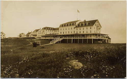 LOVELY CRYSTAL CLEAR RPPC of PORTSMOUTH NEW HAMPSHIRE? HOTEL