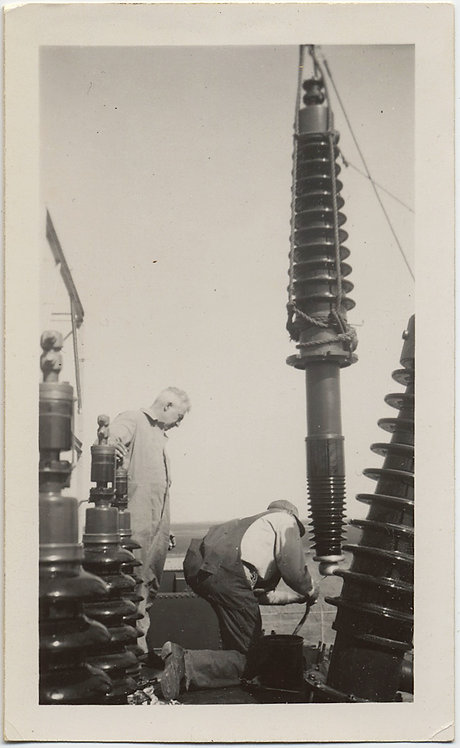 GREAT INDUSTRIAL! MEN WORK on FIX ELECTRICAL TRANSFORMER SUBSTATION LINES