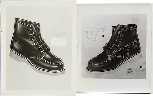 BOOTS & SHOES SALESMAN STYLE SAMPLES 2 pics