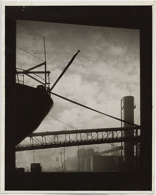 AMAZING BETHLEHEM STEEL COKE OVENS in SILHOUETTE! PRESS PHOTO! Industrial