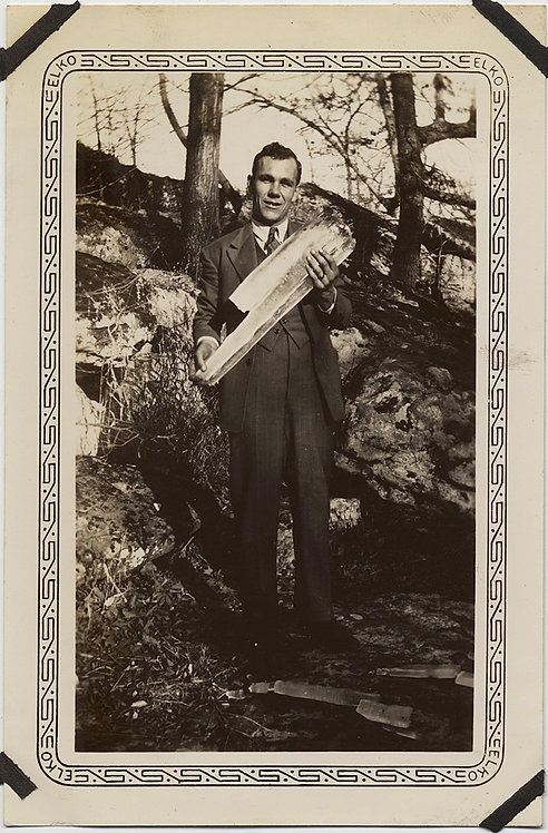 UNUSUAL HANDSOME MAN in SUIT GETS WOOD HOLDS LOGS? in ARMS