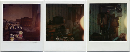 The HOARDER 3 POLAROIDS TELL HAUNTING DEPRESSING STORY of OVERCROWDED LIFE
