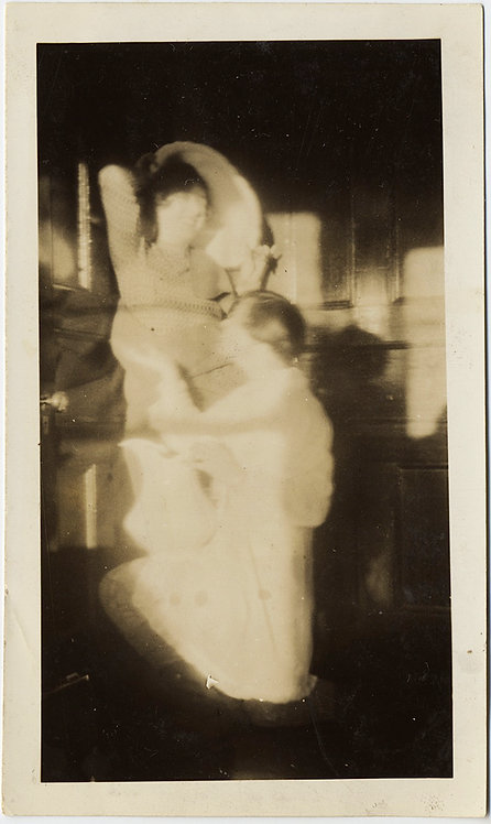 AWESOME IMPRESSIONISTIC PICTORIALIST ABSTRACT 2 INTIMATE WOMEN GAUZY UNUSUAL!