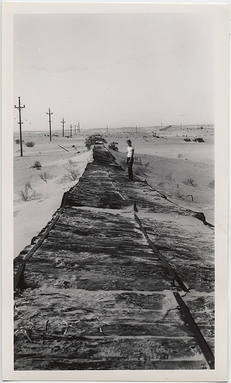 YOUNG GUY T-SHIRT OLD PLANK HIGHWAY DESERT TRACK VANISHING POINT YUMA HOLTSVILLE