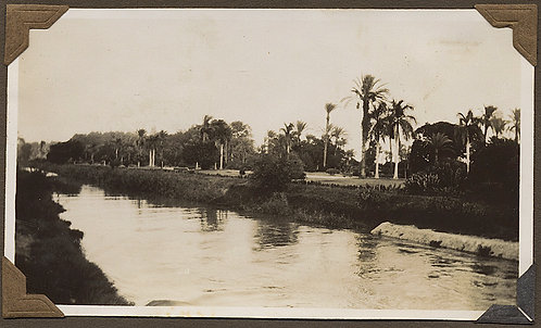 GORGEOUS CANAL in EGYPT SWEETWATER CANAL PALM TREES