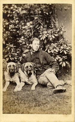 fp0797 (man w two dogs)