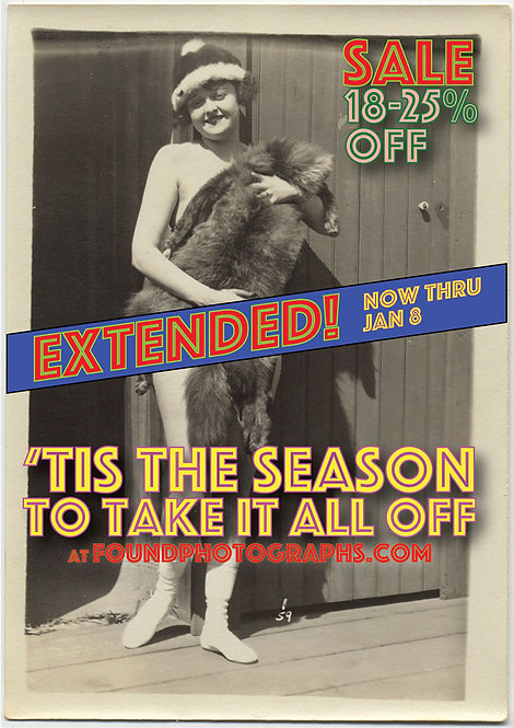 HOLIDAY SEASON SALE EXTENDED ***18-25% OFF EVERYTHING***