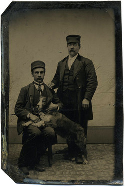 fp0984 (men with dog)