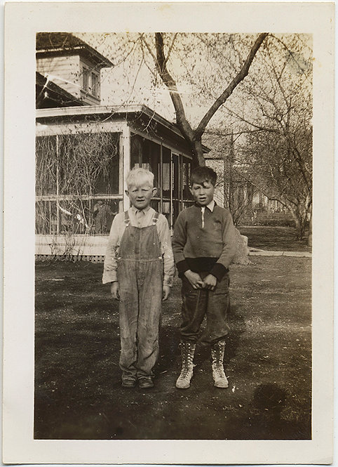 NEGATIVE POSITIVE 2 BOYS ONE ALBINO? TONAL OPPOSITES INVERSION OUTDOOR PORTRAIT