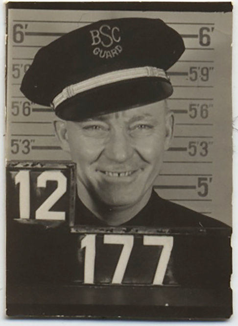 ID PICTURE of SMILING GUARD