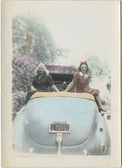 fp5399(Women_Car_Tinted_ColoradoLicensePlate)