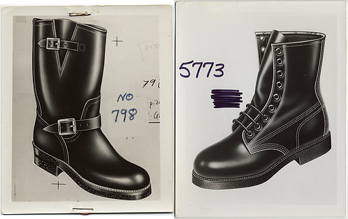 TOM of FINLAND-ish BOOTS HEAVILY RETOUCHED PAINTED PHOTOS or PHOTOS of DRAWINGS