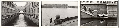 3 ARTFUL IMAGES LENINGRAD ST PETERSBERG NEVA RIVER HERMITAGE CANAL SCHMECK