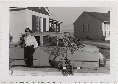 Dick's FIRST CADILLAC PROUD OWNER & NEW VINTAGE CAR AWESOME SUBURBIA SHADOWS