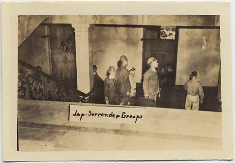 UNUSUAL RARE WWII JAPANESE SURRENDER SNEAKED VOYEURISTIC SNAP