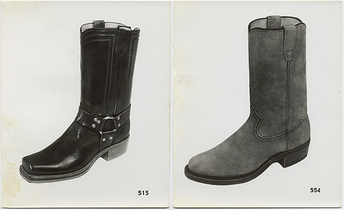 BOOTS ON THE GROUND! FOOTWEAR as MINIMALIST OBJECT FASHION DOCUMENTATION 2 pics