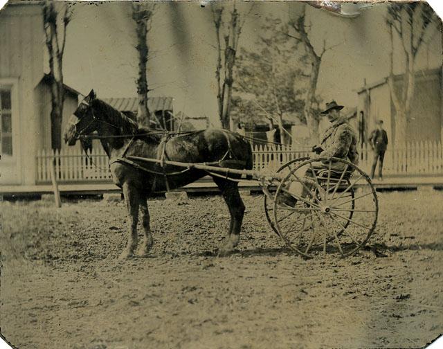fp0671 (man horse & buggy)