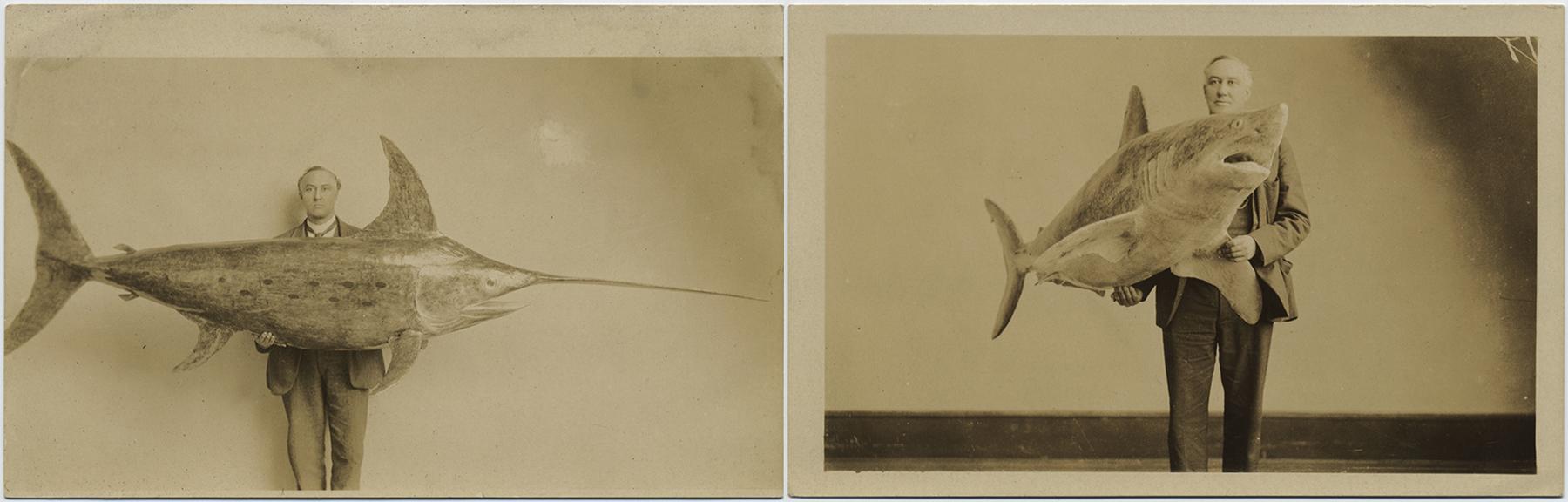 fp5228-5229(RPPC_Man_Fish)