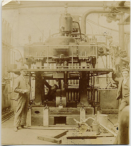 LARGE INDUSTRIAL MACHINE and WORKERS!