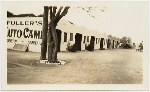 Details about  FULLER'S AUTO CAMP EARLY MOTEL