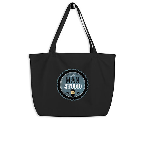 Large organic tote bag personalized any way you would like