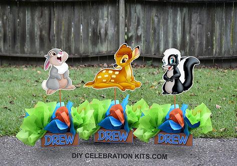 Bambi Birthday Party Centerpieces