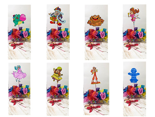 CANDYLAND BIRTHDAY PARTY DECORATIONS CENTERPIECES CANDY LAND