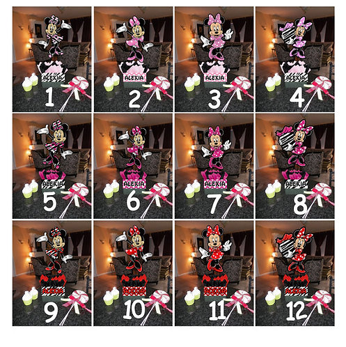 Minnie Mouse Birthday Party Centerpieces decorations