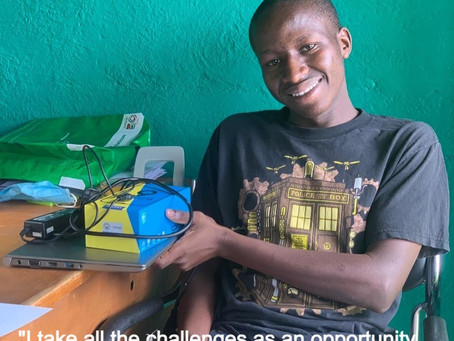 The Inspiring story of Norman, one of our sponsored student