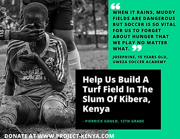 Help Us Build A Turf Field In The Slum O