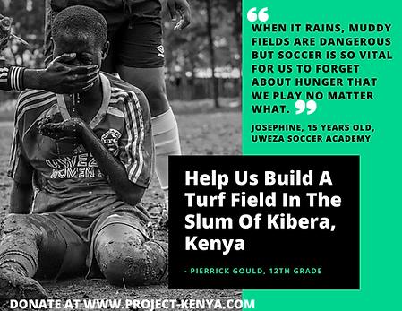 Help Us Build A Turf Field In The Slum O