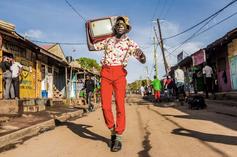 Kenyan fashionista and photographer Stephen Okoth