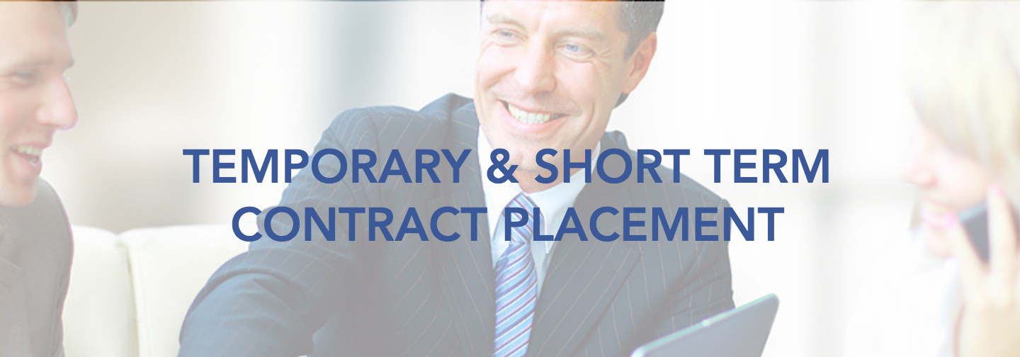 Temporary & Short Term Contract Plac