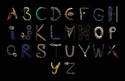 Jewellery Alphabet