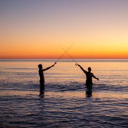 Fishing Sword fight