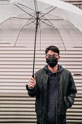 素色款-時尚黑