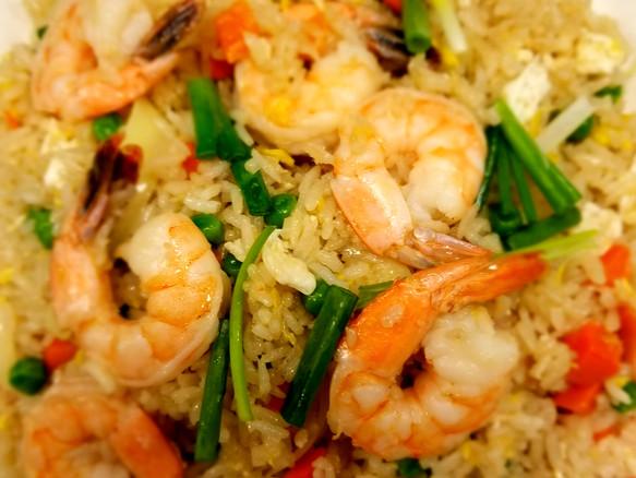 Shrimps fried Rice